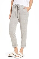 James Perse Women's Relaxed Tapered Sweatpants