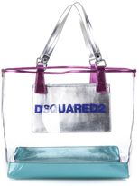 DSQUARED2 Pvc Beach Shopper Bag