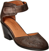 Gentle Souls By Kenneth Cole Blaise Leather Wedge Pump