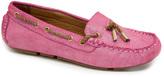 Lamo Pink Elite Suede Boat Shoe - Women