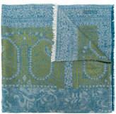 Etro multi-pattern scarf