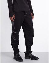 Y-3 Sport Tape Running Wool-blend Jogging Bottoms