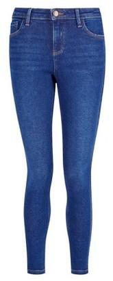 Dorothy Perkins Womens Blue Premium 'Darcy' Skinny Ankle Grazer Denim Jeans, Blue