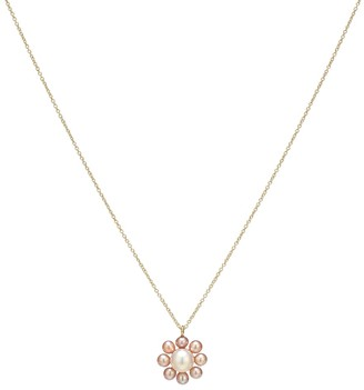 Sophie Bille Brahe Exclusive to Mytheresa Margherita Rose 14kt gold and pearl necklace