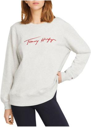 Tommy Hilfiger Carmen Relaxed Crew Neck Sweatshirt