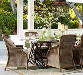 Rosalie Dining Table & Saybrook Armchair Set Custom-Fit Outdoor Furniture Cover