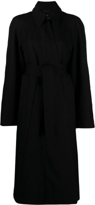 Lemaire Belted Mid-Length Swing Coat