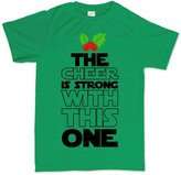 Customised Perfection The Cheer Force Is Strong Christmas Xmas Gift T Shirt 4XL