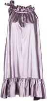 Cynthia Rowley Darcey halter mini dress