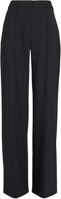 Adam Lippes Pintuck Pleated High-Rise Trousers