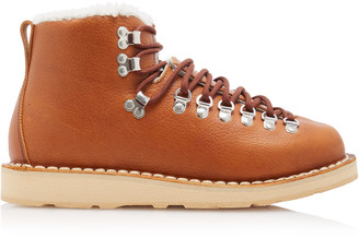 Diemme Inverno Vet Shearling-Lined Leather Hiking Boots