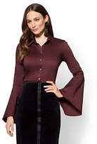 New York & Co. 7th Avenue - Madison Stretch Shirt - Bell Sleeves