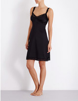 Mimi Holliday Fortune Cookie stretch-silk slip dress