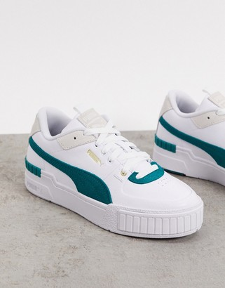 Puma Cali Sport sneakers in green