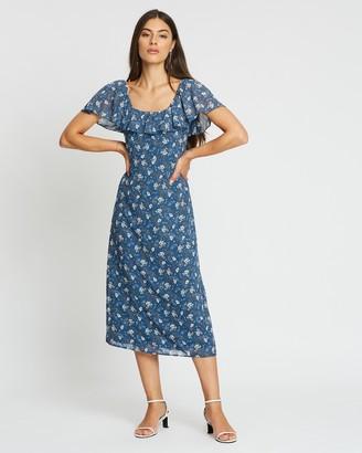 Atmos & Here Arabella Floral Midi Dress