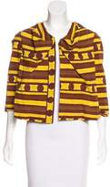 Marni Open-Front Printed Jacket