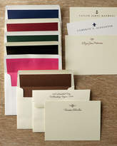 Horchow 50 Motif Correspondence Cards with Plain Unlined Envelopes