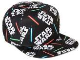 Star Wars 80s Flat Brim Hat - Black One Size