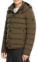 Moncler Nazaire Quilted Down Jacket with Hood