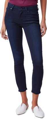 Paige Verdugo Mid Rise Crop Skinny Jeans