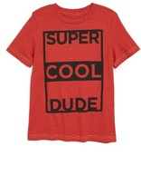 JEM Toddler Boy's Super Cool Dude Graphic T-Shirt