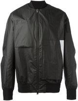 Y-3 Versa bomber jacket - men - Cotton/Polyester/Polyurethane - XL