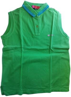 Ungaro Green Cotton Top for Women Vintage