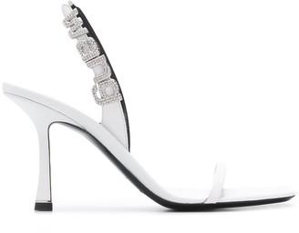 Alexander Wang Crystal-Embellished Sandals