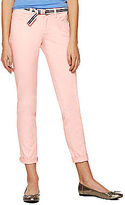 JCPenney Bebop Belted Roll-Cuff Skinny Pants
