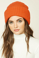 Forever 21 Fold-Over Slouchy Beanie