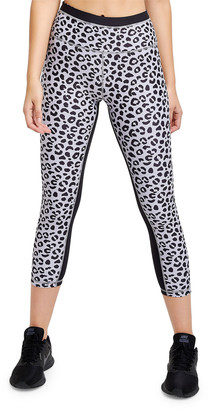 Jagger All Fenix Leopard-Print Cropped Leggings