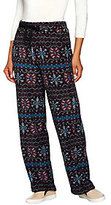 Cuddl Duds Fleecewear Stretch Lounge Pants