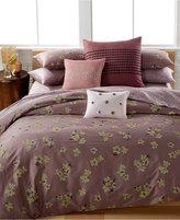 Calvin Klein Delphine Floral-Print King Comforter Set Bedding