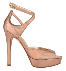 GUESS Women's Seana Platform Strappy Dress Sandals Women's Shoes
