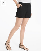 White House Black Market Petite 4-inch Lace-Up Shorts