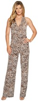 MICHAEL Michael Kors Big Cat Halter Jumpsuit Women's Jumpsuit & Rompers One Piece