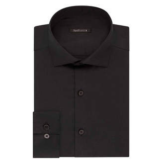 Van Heusen Slim No-Iron Lux Sateen Mens Spread Collar Long Sleeve Dress Shirt