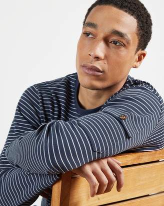 Ted Baker MELTED Long sleeve striped t-shirt