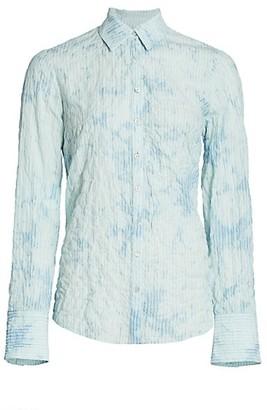 Cinq à Sept Bleached Stripe Marisol Button-Down Shirt