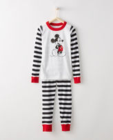 Hanna Andersson Disney Mickey Mouse Long John Pajamas In Organic Cotton