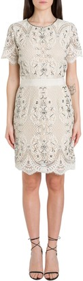 Twin-Set Twinset TwinSet Embroidered Lace Dress