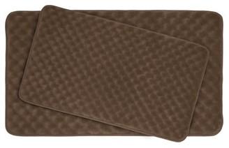 Bounce Comfort Massage Premium 2-Piece Memory Foam Bath Mat Set