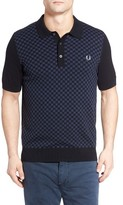Fred Perry Men's Checkerboard Polo Shirt