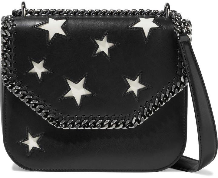 Stella McCartney Falabella Box Cutout Faux Leather Shoulder Bag