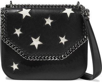 Stella McCartney Falabella Box Cutout Faux Leather Shoulder Bag