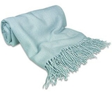 Forzieri Powder Blue Pashmina Shawl