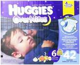 Huggies Overnites Diapers size6 42ct by