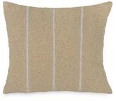 Donna Karan Beaded Stripe Decorative Pillow, 12 x 12