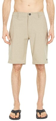 Rip Curl Phase Boardwalk 21 Hybrid Shorts (Khaki) Men's Shorts