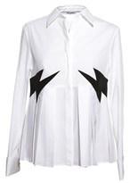 Neil Barrett Women's White Cotton Shirt.